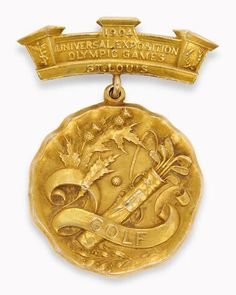 St. Louis 1904 Olympics - Golf Gold Medal