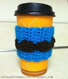 Tutus and Tea Parties: {Free Pattern} Crochet Mustache Applique