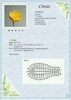 Мобильный liveinternet Альбом «the book of crochet flowers – Artofit Crochet Puff Flower, Crochet Flower Tutorial, Crochet Leaves, Crochet Flower Patterns, Crochet Books, Thread Crochet, Diy Crochet, Crochet Crafts, Appliques Au Crochet