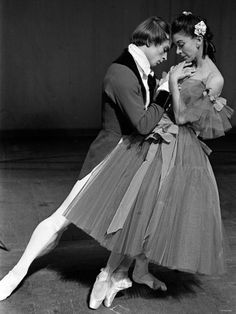 Nureyev and Fonteyn. Why does anyone wonder if there was a romance? There had to have been...sigh...