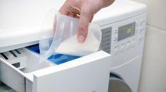 Detergent in laundry