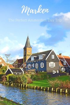 Looking for a great day trip from Amsterdam? Look no further than the village of Marken, The Netherlands
