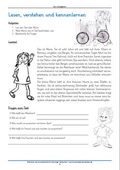 Free Reading Diary ~ Loud reading promotes German pronunciation and my . Getting A Kitten, German Grammar, German Language Learning, Learn German, Preschool Learning, Elementary Education, Free Reading, Reading Comprehension, Pre School