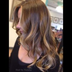 Sun kissed Balayage highlights for dark blondes. #balayage #balayageColor…