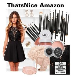 """""""That's Nice Amazon"""" by zeepanda ❤ liked on Polyvore featuring FACE Stockholm, Stila, Dolce&Gabbana, Samira 13 and Mimí"""