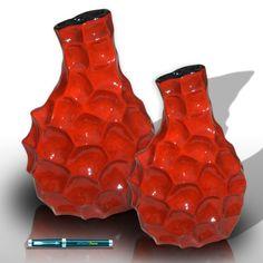 Schmuckvase mit gewellten Hals - Decorative Vases  $50.50 per 2