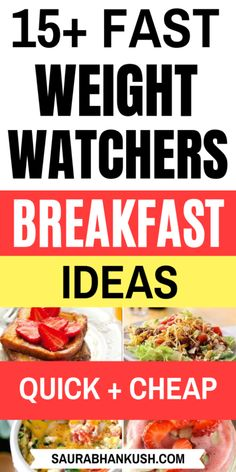 Best Weight Watchers Breakfast Recipes with Points. weight watchers breakfast on the go? Giving my easy weight watchers breakfast ideas, casserole weight watchers breakfast, crockpot weight watche Weight Watcher Desserts, Weight Watchers Snacks, Weight Watchers Pancakes, Weight Watchers Casserole, Weight Watchers Breakfast, Weight Watcher Dinners, Weigh Watchers, Breakfast Party, Breakfast On The Go