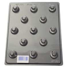 Our dented rounds chocolate mould is a deep fill shape, perfect for adding your favourite filling in this mould to make delicious chocolates. Chocolate Molds, How To Make Chocolate, Chocolate Making, Delicious Chocolate, Shapes, Chocolates, Fill, Deep, Schokolade