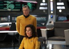 Anson Mount And Ethan Peck Talk About Possibility Of Returning As Pike And Spock For More Star Trek Star Trek Tv, Star Trek Movies, Star Wars, Discovery 2017, Anson Mount, Sonequa Martin Green, Star Trek Characters, Starship Enterprise, Star Trek Universe