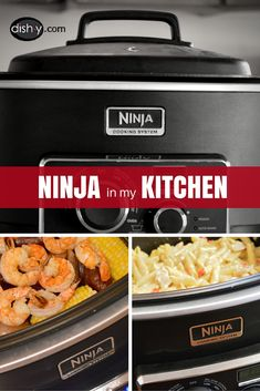Dish-y.com Author Michelle talks about the Ninja Cooking System in her kitchen and develops recipes for the cooker.