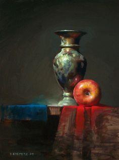 Натюрморты маслом David Cheifetz  http://www.inspireme.ru/post/40196