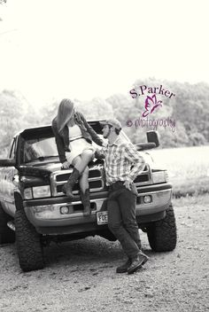 Somethin' bout a truck #country #photography #couple See more here: http://on.fb.me/1gGzMNG