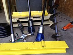 Your PORTADRILLMINI Drill Unit can be quoted specifically for your drilling project requirements so all your items pertain to your project only and not on items wasting your money. YOUR OPTIONS ARE HONDA GASOLINE OR HATZ DIESEL powered units featuring a 25-1 Gearbox Transmission with a internal 25hp wet clutch. 250 lbs of pulldown weights are provided in your shipment . You may add or remove as needed for your drilling project needs. Additional drill steel sections maybe purchased