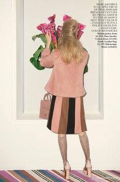 Vogue UK September 2013 Cara Delevingne by Walter Pfeiffer