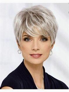 Short Fine Hair Cuts For Older Women