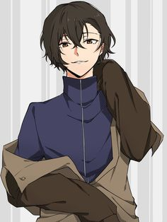 Hello there handsome boy Dazai Bungou Stray Dogs, Stray Dogs Anime, Manga Boy, Manga Anime, Anime Art, Cute Anime Boy, Hot Anime Guys, Fanarts Anime, Anime Characters