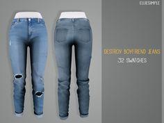 Elliesimple - Destroyed Boyfriend Jeans
