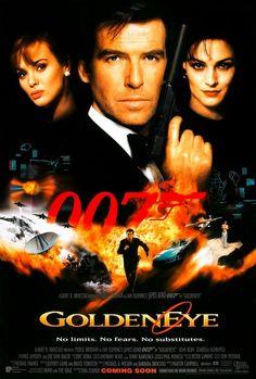 Teaser poster for GOLDENEYE (1995).