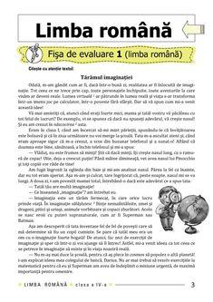 Clasa a IV-a : Fişe de recapitulare şi evaluare finală clasa a IV-a Memes, Words, Geography, Rome, Meme