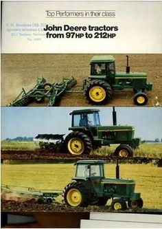 JOHN DEERE 30 Series Ad