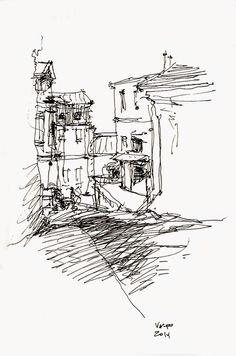 Urban Sketchers Chile: Breve Valparaíso
