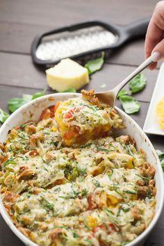 Heirloom Tomato Bake | LaughterandLemonade.com