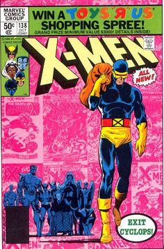 Uncanny X-Men #138. Cyclops leaves the X-Men!