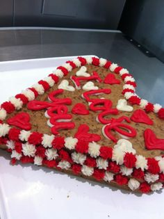 Triple the love with a triple layer Cookie Cake!