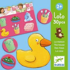 The Lotto House Game by Djeco is a classic picture matching and memory game loved by children. The pack contains 5 boards and 30 card pieces made Childrens Board Games, Games For Kids, Best Toddler Books, Lotto Games, House Games, Memory Games, Educational Games, Bingo, Your Child