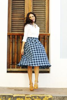 Eleanor Midi Skirt Teal