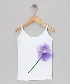 Take a look at this Purple & Pink Flower Tank - Infant, Toddler & Girls by Dance Bug on #zulily today!