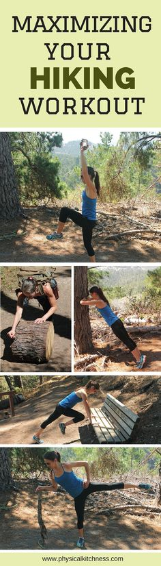 Hiking circuit to maximize your workout during a hike or trail walk