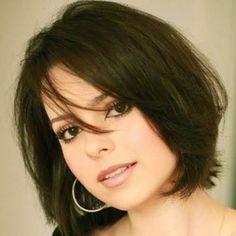 Resultado de imagen para cortes de cabelo para rosto redondo