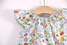 Costura de ropa: Ranita estampada (patrones gratis) | | Oh, Mother Mine DIY!! Kids Outfits, Rompers, Summer Dresses, Sewing, Children, Baby, Clothes, Women, Fashion