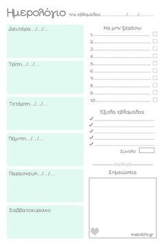 Printable calendar to organize our schedule – The best ideas Planner Pages, Weekly Planner, Christmas Preparation, Konmari, Instagram Story Ideas, Staying Organized, Life Organization, Happy Planner, Better Life