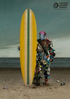 Surfers Against Sewage.... Marine litter campiagn.