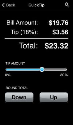 QuickTip™ Tip Calculator by Doug Penny