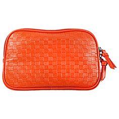 SEPHORA+PANTONE UNIVERSE - Tangerine Tango Makeup Bag