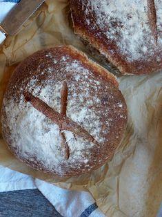 Halvgrovt brød med spelt og havregryn