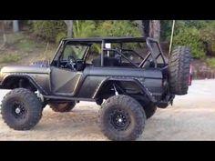1969 Matte Black Classic Ford Bronco Rocky Roads Rock Crawler For Sale 69 Classicbronco