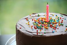Edible Moments: Classic Birthday Cake - Because it's not every day you turn 21!