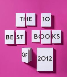 Best books 2012 NY times