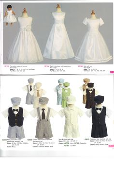 First Communion Dresses and Boys Short Sets. Proudly Made in the USA. Beautiful Styles for First Communion.