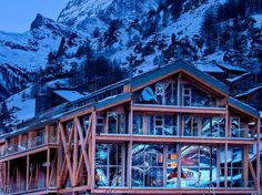 Photos: Best New Hotels in the World: Hot List 2012 : Hot List : Condé Nast Traveler. Backstage Hotel Vernissage, Zermatt, Switzerland