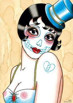Angelique Houtkamp. #TattooFlash #Flash #AngeliqueHoutkamp