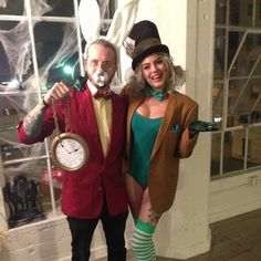 Rabbit and the Mad Hatter From Alice in Wonderland