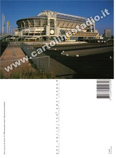 € 0,70 - code : NED-010 - AMSTERDAM ArenA - stadium postcard cartolina stadio carte stade estadio tarjeta postal
