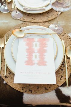 Pattern play: http://www.stylemepretty.com/2014/03/13/bohemian-wedding-details-we-love/
