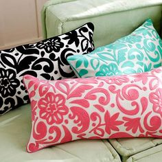 Really fun and really pretty!  Gotta check out the selection HERE  at Pottery Barn Teen.  These were my faves:    The Fun Felted Pillows.   ...