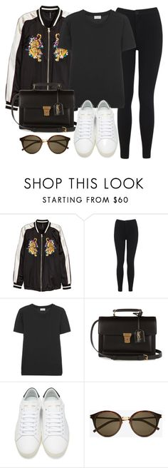 """Sin título #12250"" by vany-alvarado ❤ liked on Polyvore featuring H&M, Miss Selfridge and Yves Saint Laurent"